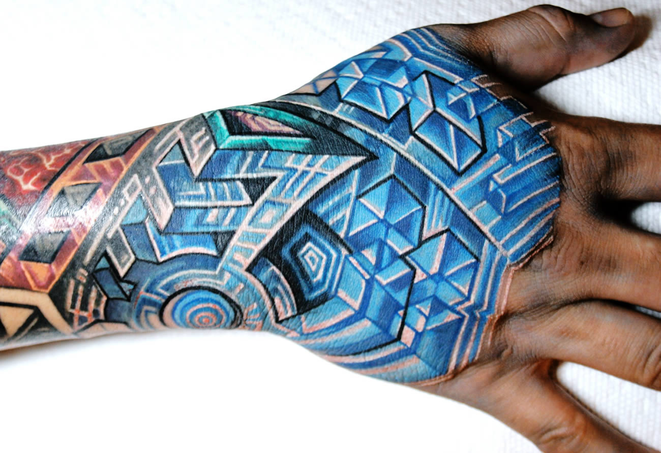 Biomechanical Tattoos cameralabs