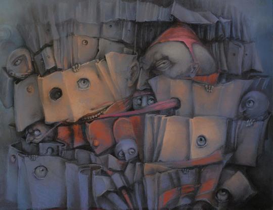 Сюрреализм в картинах Грашки Паульской