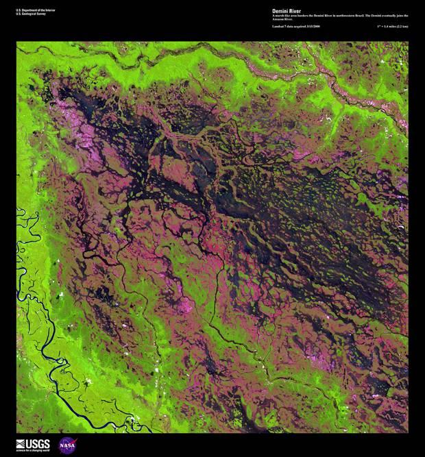 Река Демини, 1 января 1999 год