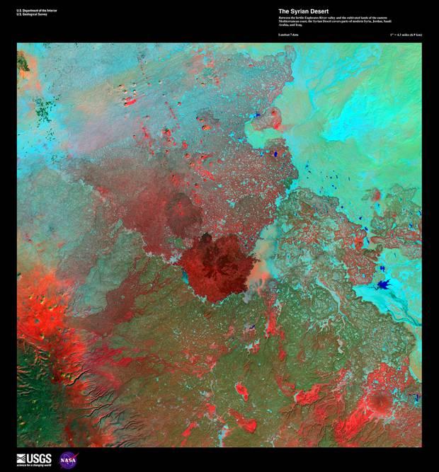 Сирийская пустыня, 1 января 1999 год