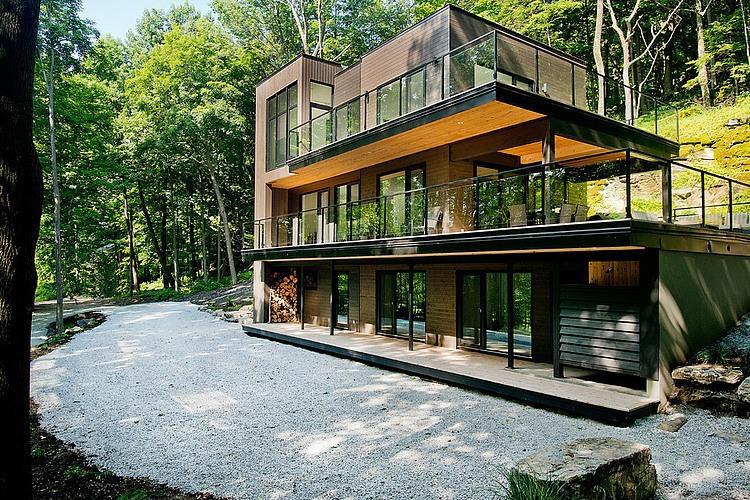 Дом у озера Шамплейн от Atelier BOOM TOWN