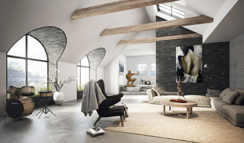 Архитектура, дизайн и интерьер - 26 интересных проектов