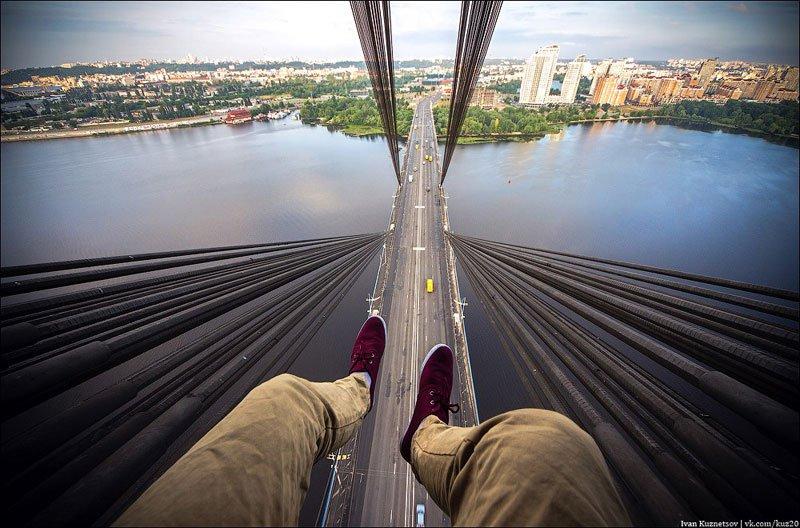 Московский мост, Киев, Украина