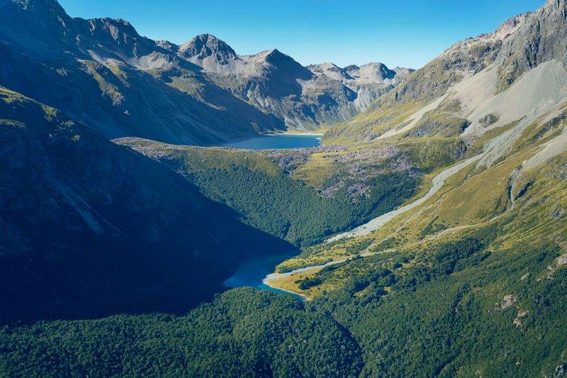 Самое прозрачное озеро в мире находится в Новой Зеландии