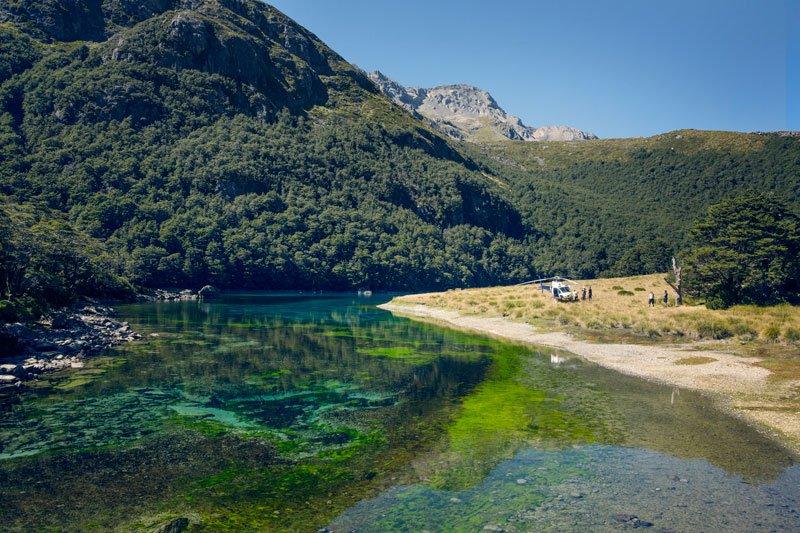 Самое прозрачное озеро в мире находится в Новой Зеландии (5)