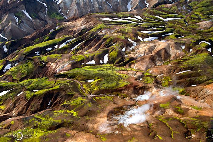 Пейзажи Исландии в аэрофотографиях Сары Мартинет_3