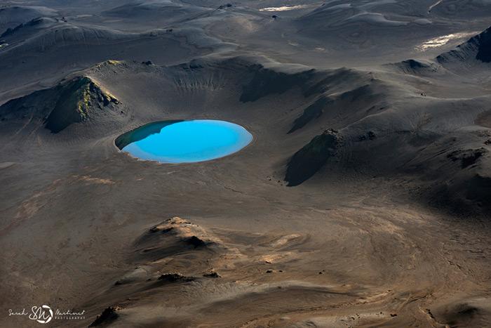 Пейзажи Исландии в аэрофотографиях Сары Мартинет_9