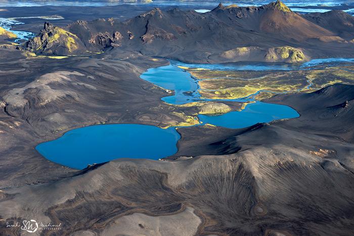 Пейзажи Исландии в аэрофотографиях Сары Мартинет_8