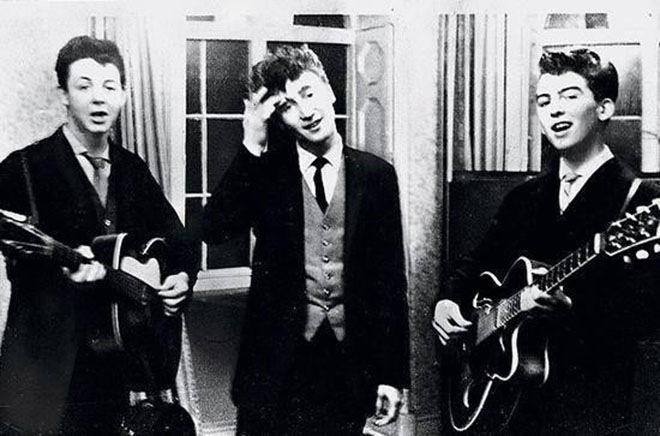 Свадебный концерт в 1958 году трёх будущих участников «Битлз»