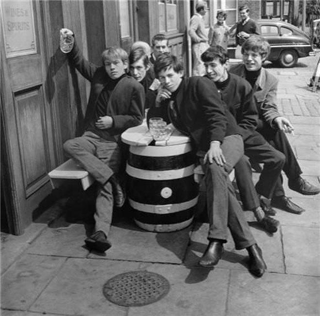 Роллинг Стоунз (Rolling Stones) в 1963 году