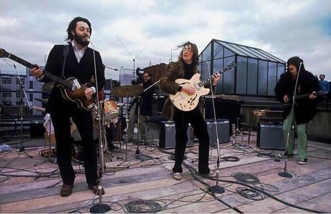 Последний концерт Битлз на крыше в Лондоне в 1969 году