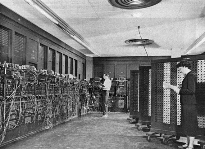 Электронный цифровой интегратор и вычислитель, четвёртый компьютер, построенный в истории, 1946 год