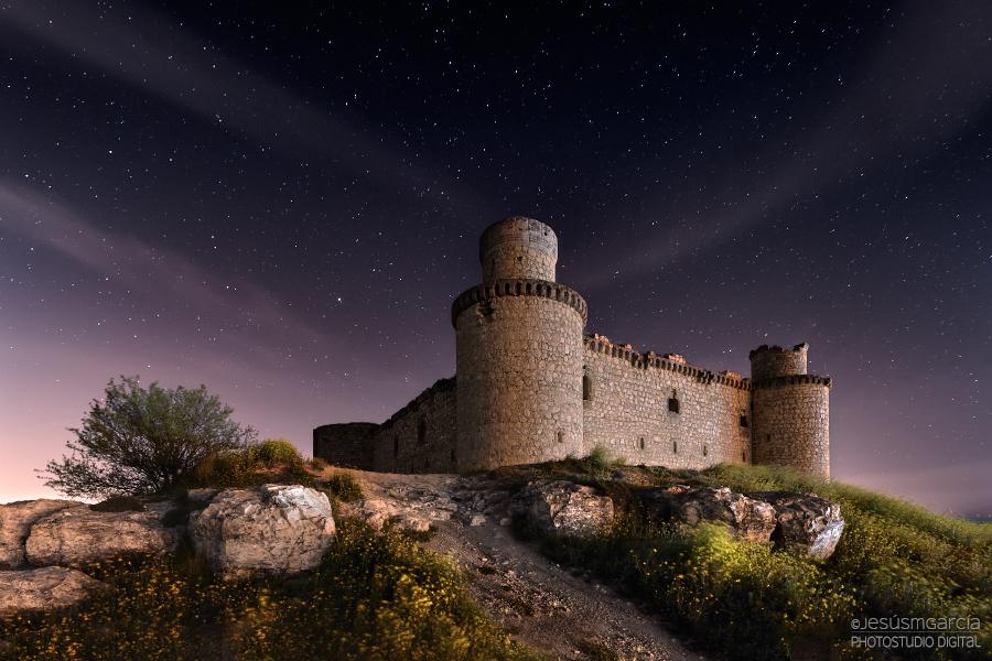 Замок Барсьенсе в Испании