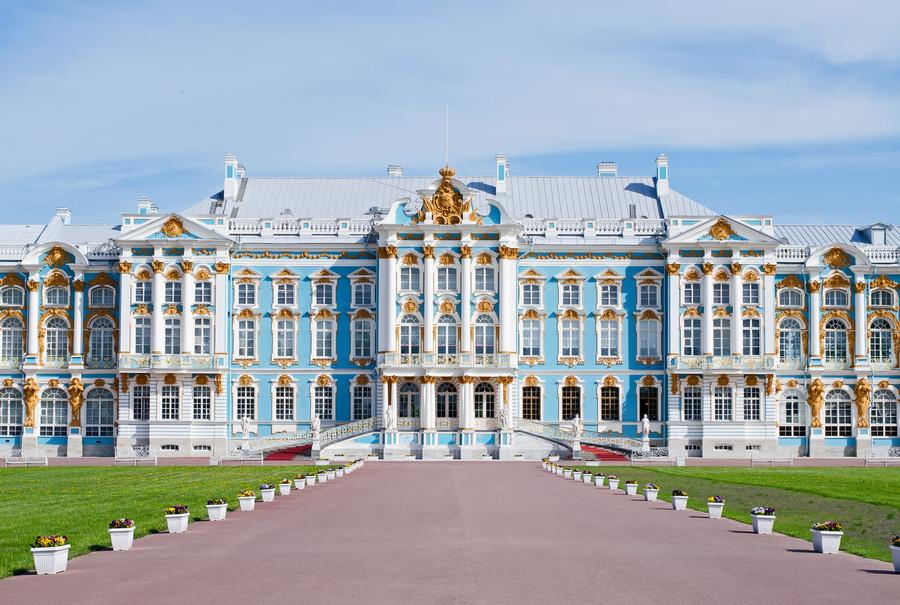 Екатерининский дворец в Пушкине, Россия