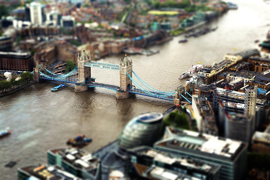 Лондон тилт-шифт