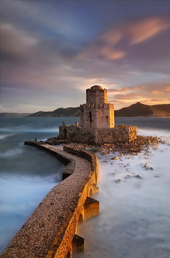 Замок Метони в Греции