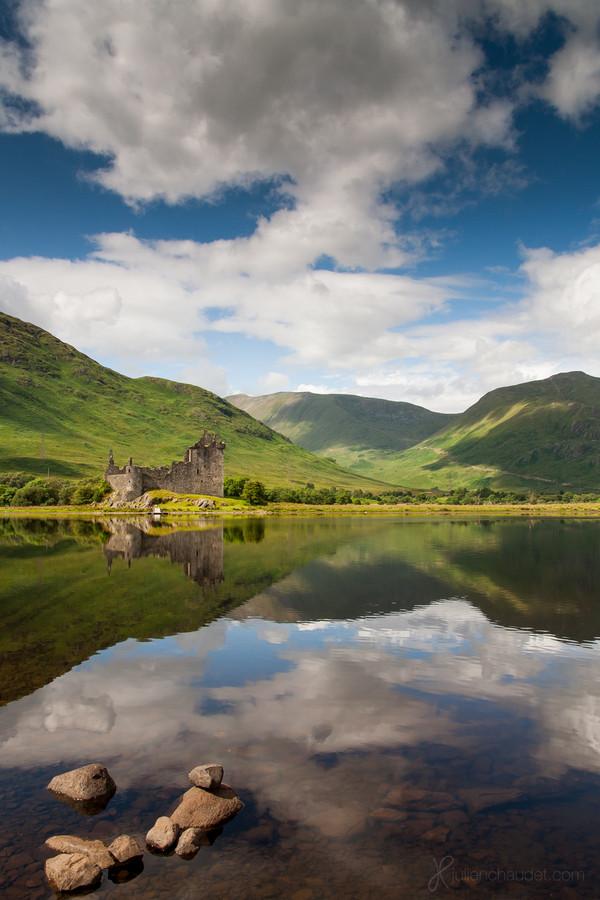 Замок Килхурн в Шотландии