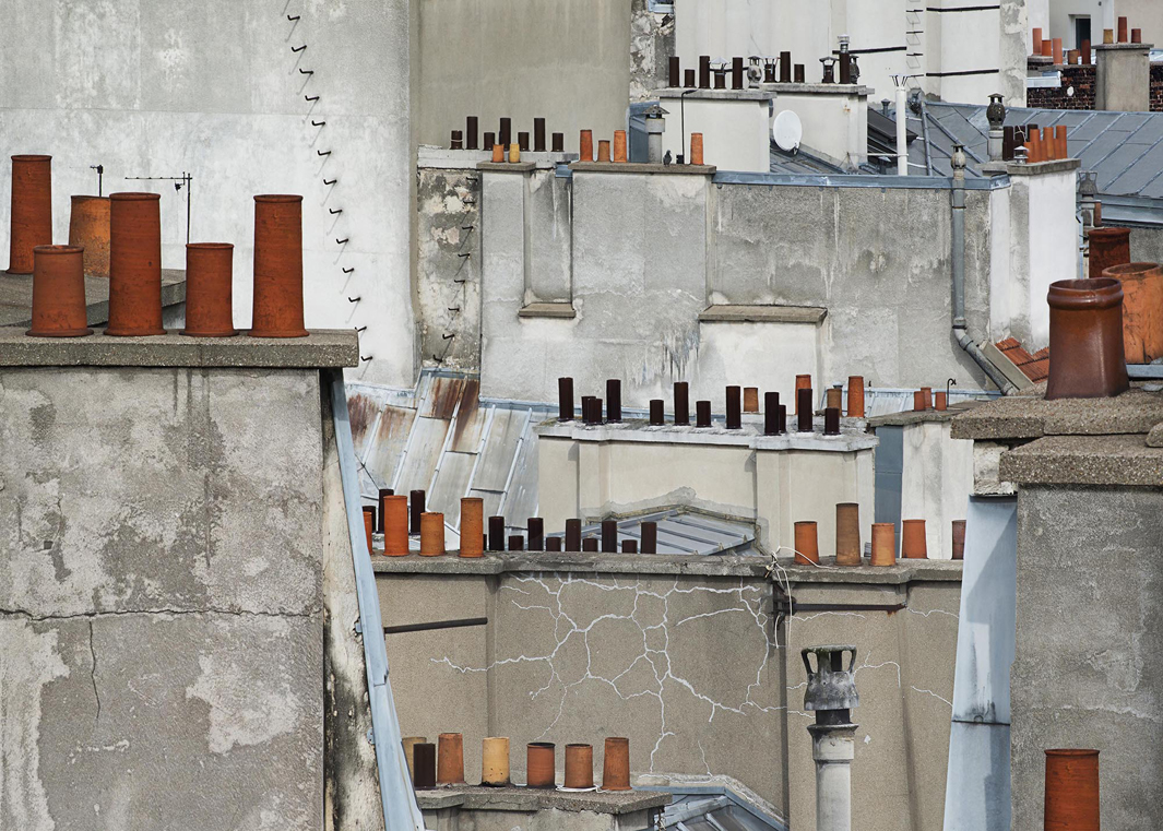 В Париже даже крыши красивые. Фотограф Майкл Вольф - 8