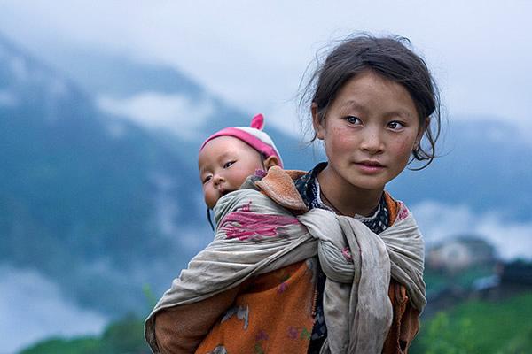 Дети гор – регион Лангтанг