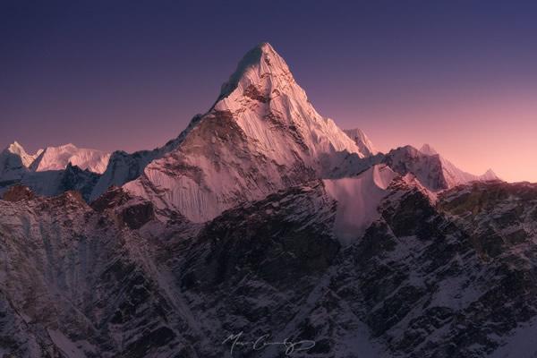 Ама-Даблам (6856 м), вид из Кала Паттар