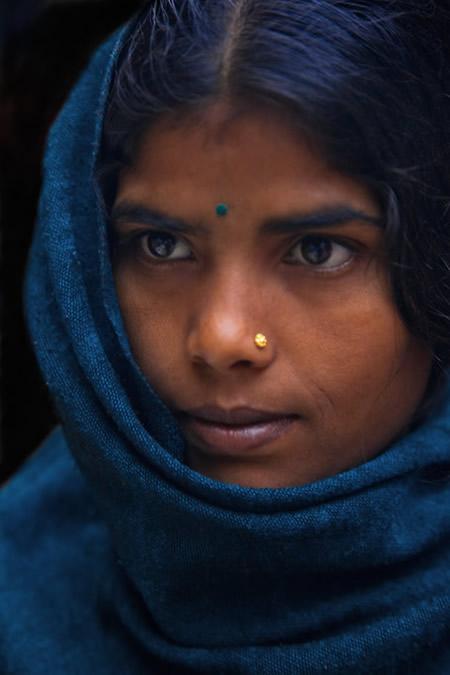 Портрет из закоулка в Катманду