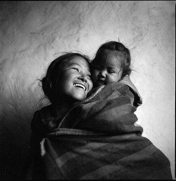 Мама с ребёнком – Муктинат, Непал