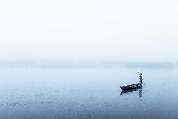 Рано утром в Саурана, Читван, Непал