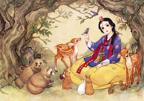 Культовые западные сказки на восточный манер-1