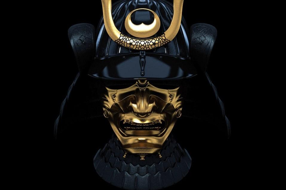 maska samuraia
