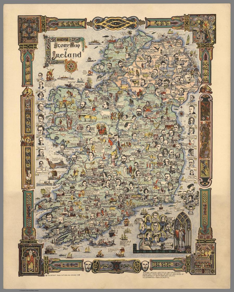 Карты прошлых столетий или история в атласах. Год: 1936
