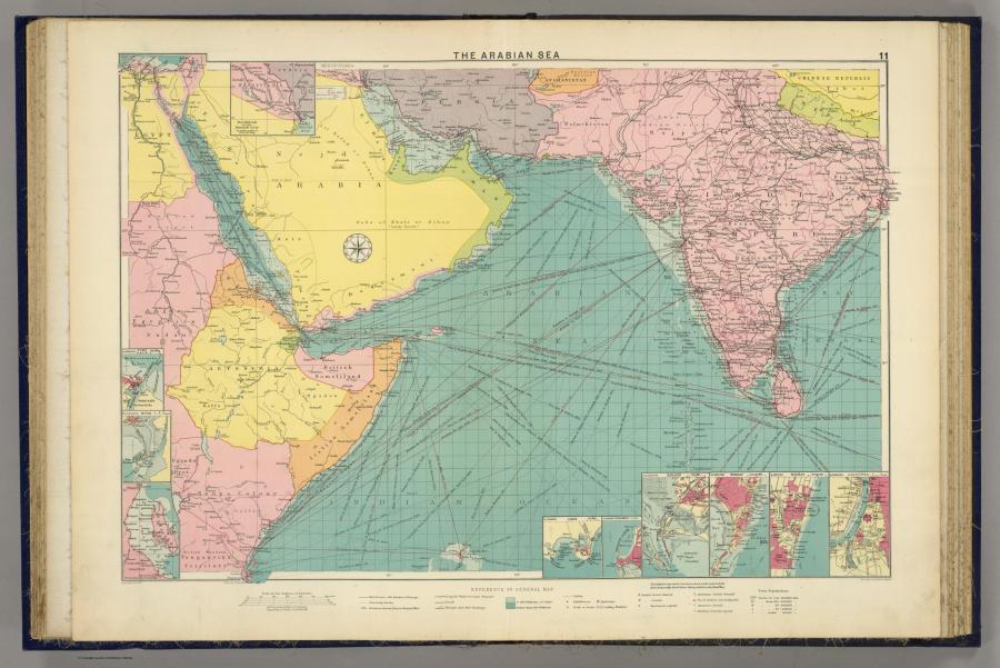Карты прошлых столетий или история в атласах. Год: 1922