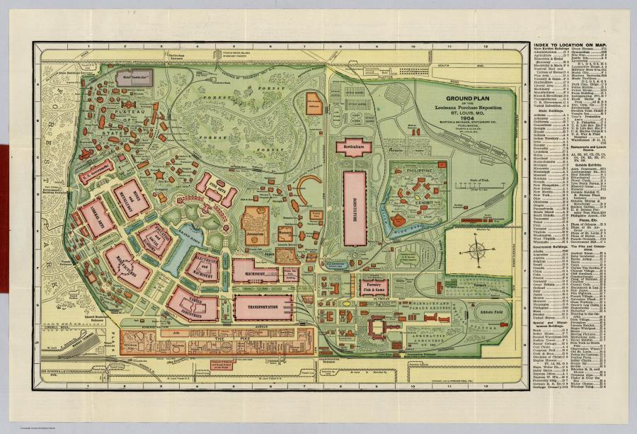 Карты прошлых столетий или история в атласах. Год: 1904