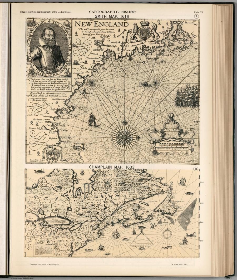 Карты прошлых столетий или история в атласах. Год: 1932