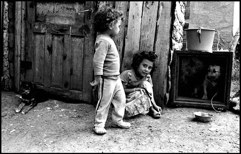 Драма в чёрно-белой фотографии