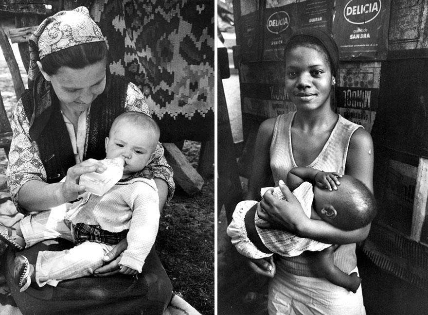 «Матери» - фотографии от 83-летнего Кена Хеймана, сделанные 50-лет назад-18