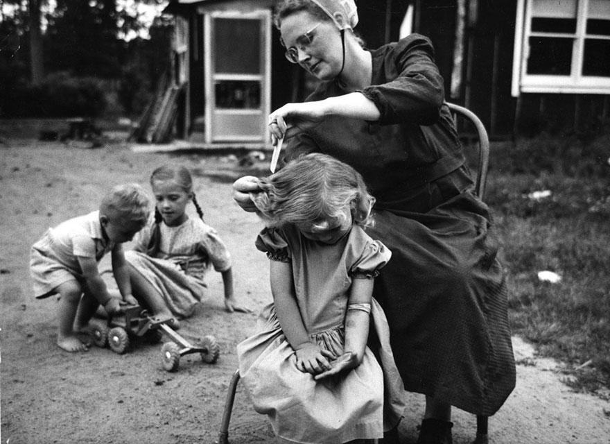 «Матери» - фотографии от 83-летнего Кена Хеймана, сделанные 50-лет назад-13