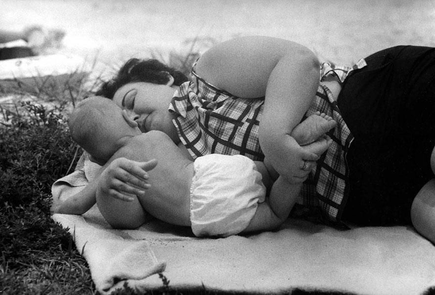 «Матери» - фотографии от 83-летнего Кена Хеймана, сделанные 50-лет назад-9