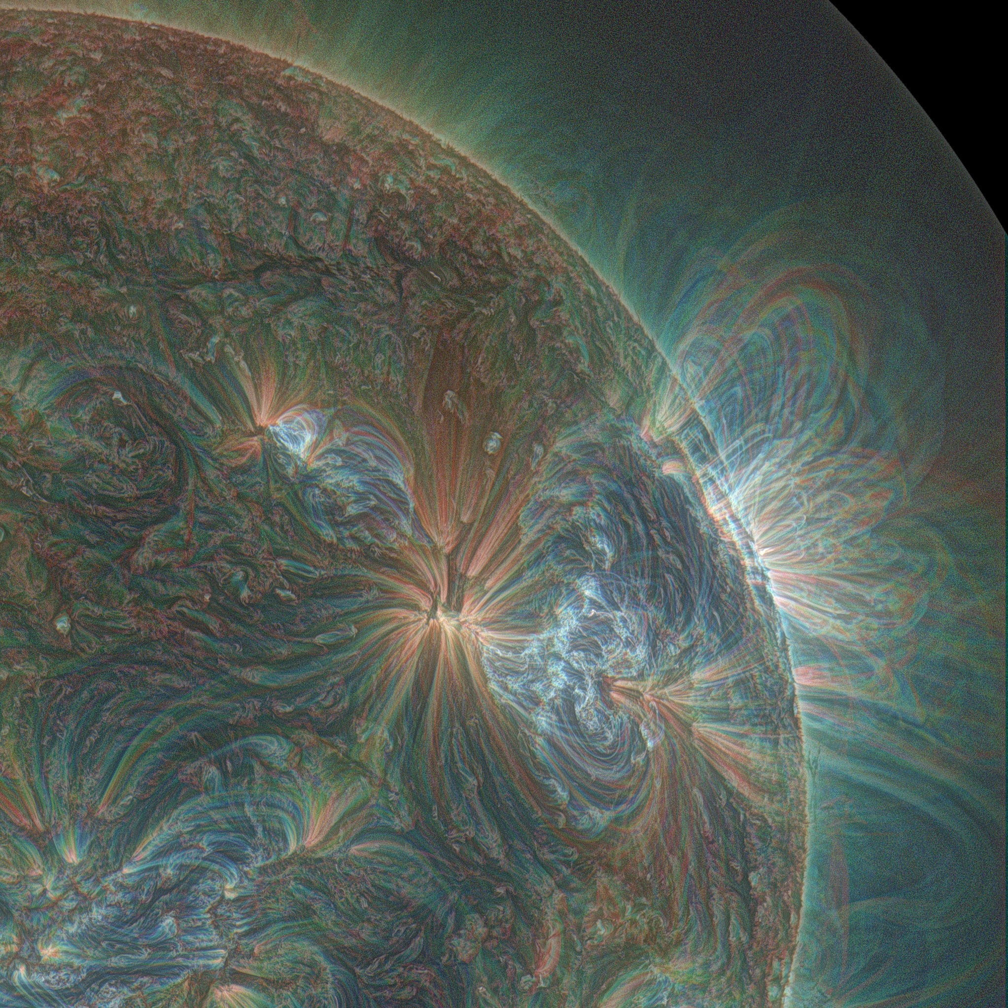 Amazing Solar Flare Eruptions Captured by NASA's Solar Dynamics Observatory
