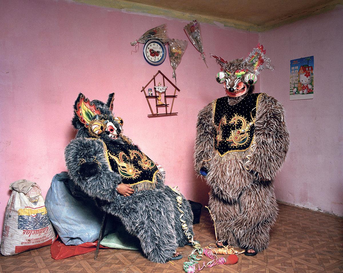 Знахари, колдуны и целители Боливии в ярких фотографиях