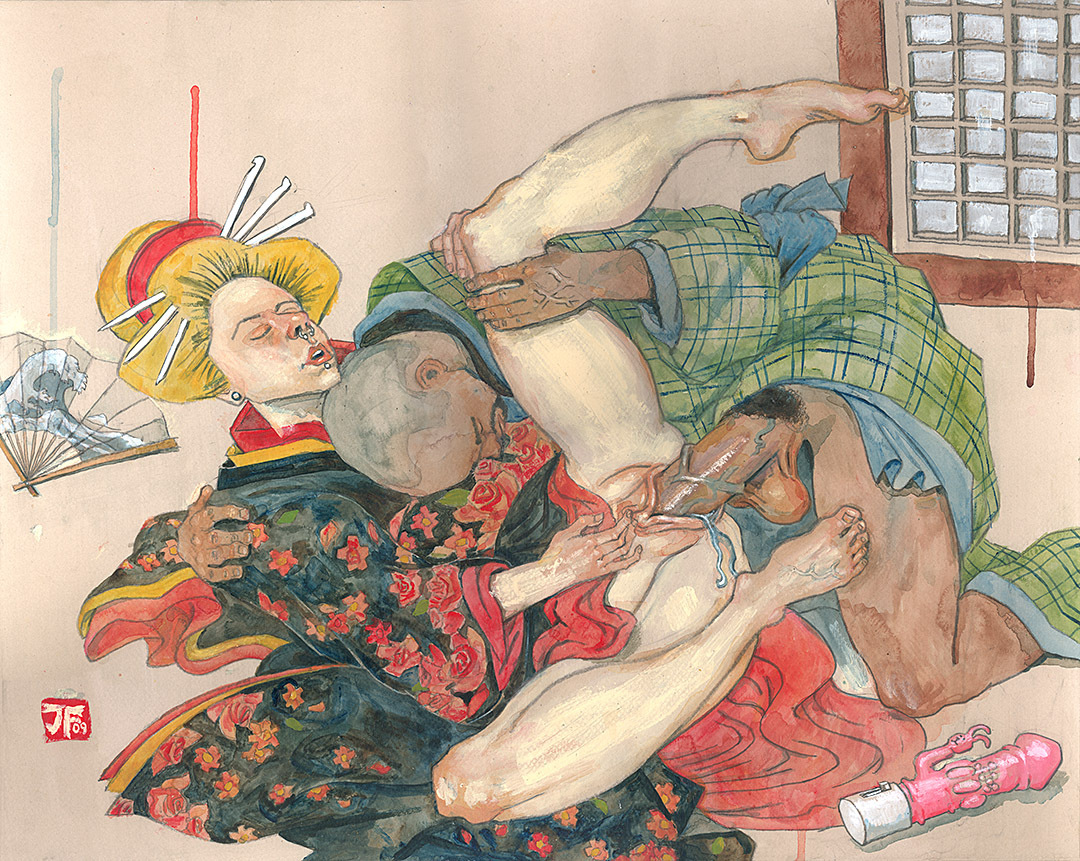 Японская камасутра эротика рисунки 20 фотография