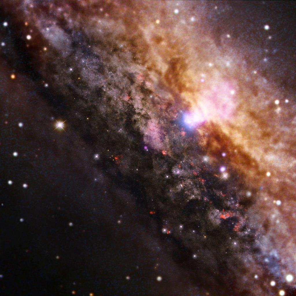 Галактика NGC 4945