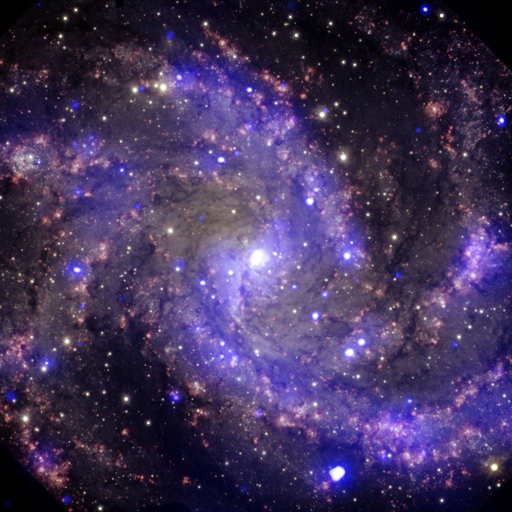 Галактика Фейерверк