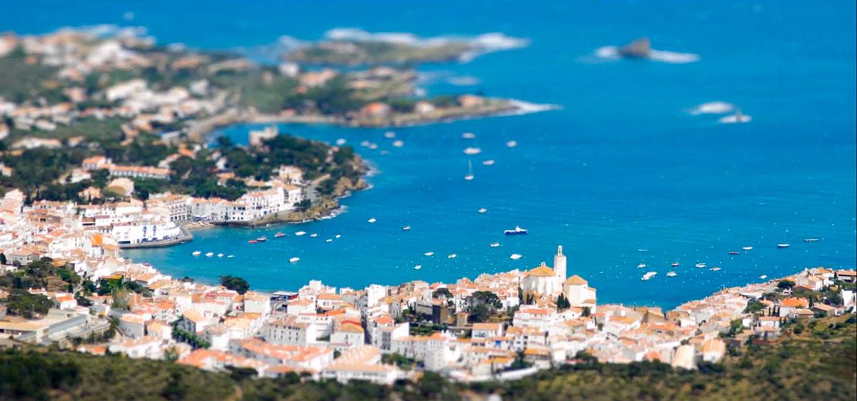 Самые красивые пейзажи Каталонии в видео тилт-шифт-1