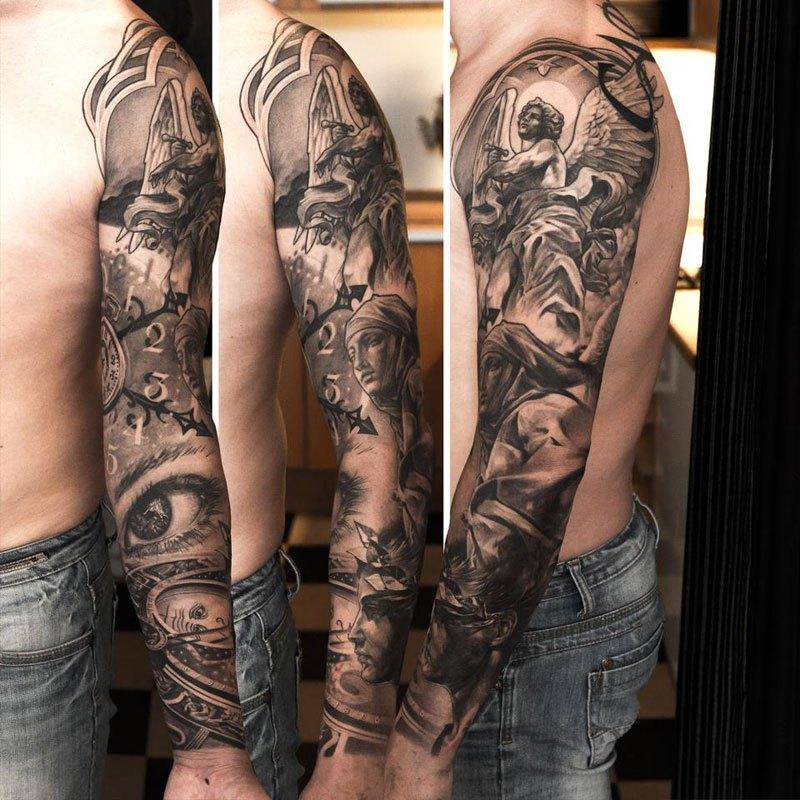 картинки татуировки рукав