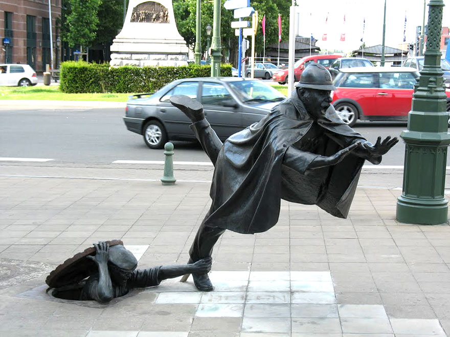25 la mayoría de las esculturas y estatuas creativas de todo el mundo-15