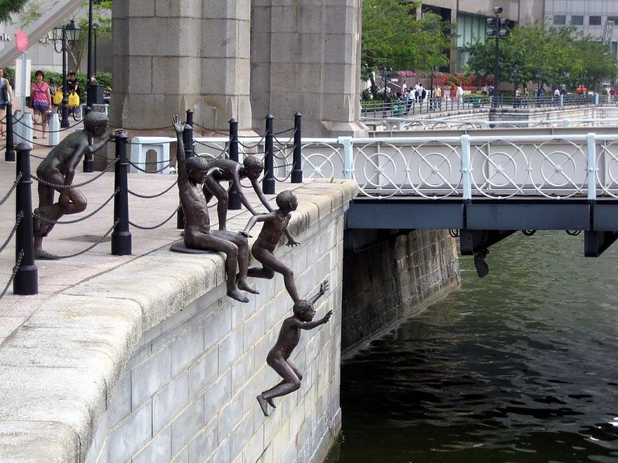 25 de todo el mundo, 7 de las esculturas y estatuas más creativos