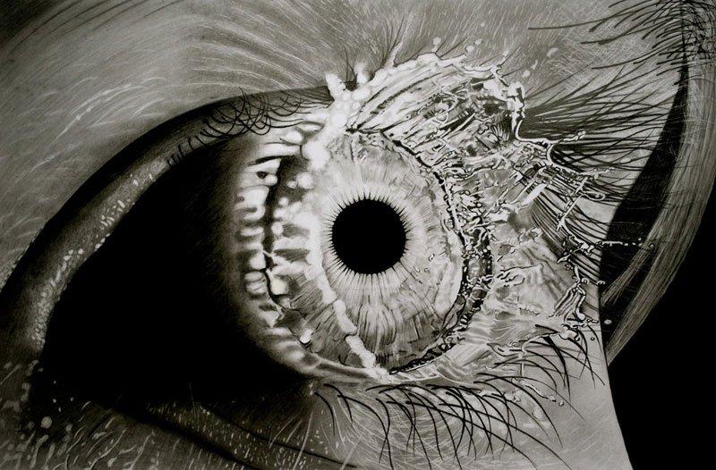 Гиперреалистические карандашные рисунки Павла Стоу