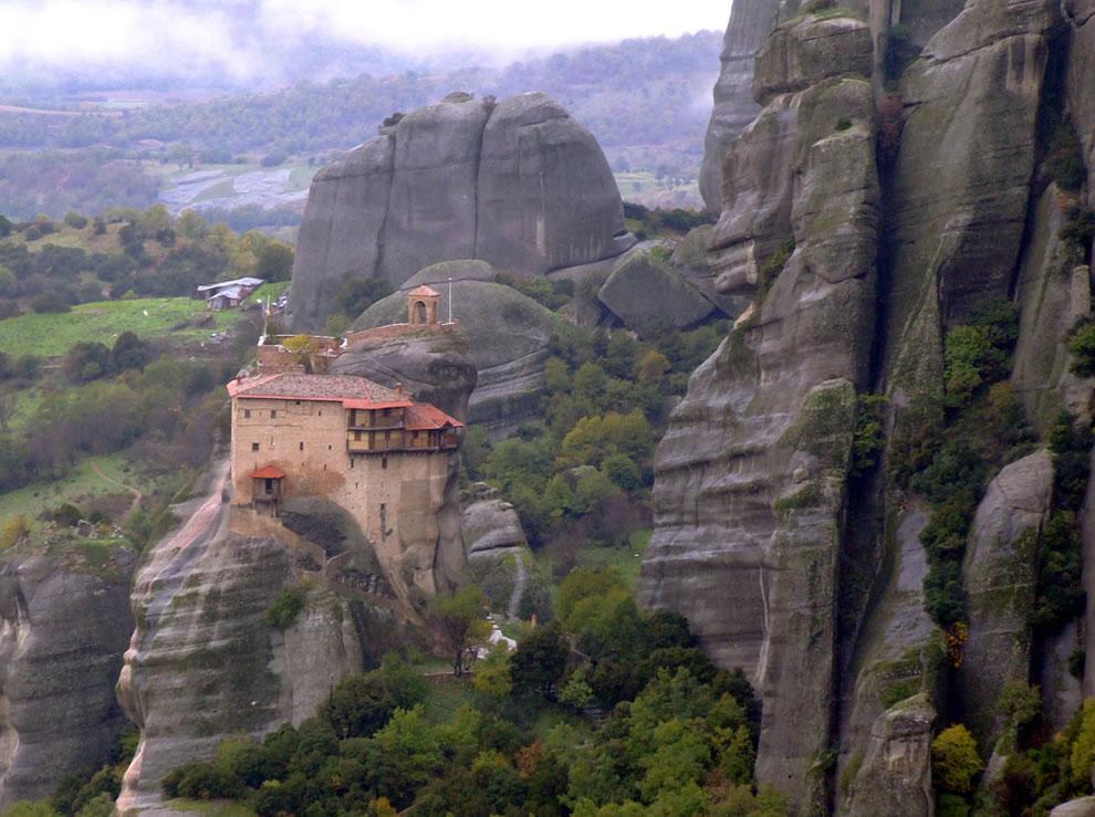 Монастыри метеоры объект всемирного