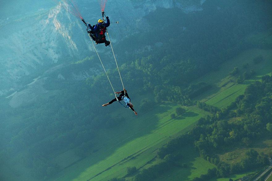 30 экстремальных фотографий на головокружительной высоте