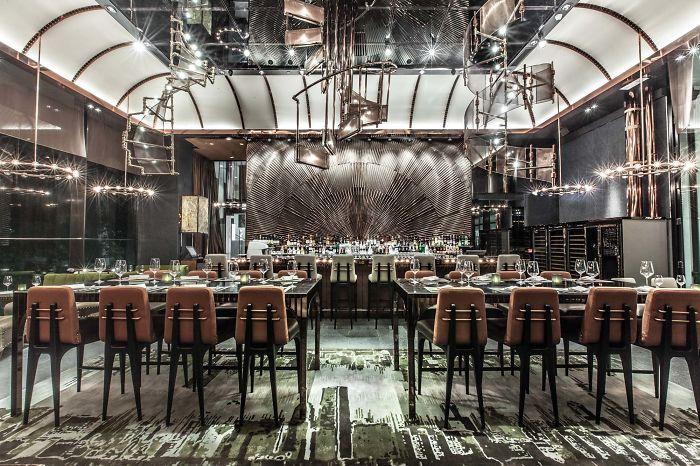 20 лучших интерьеров ресторанов и баров в мире-8